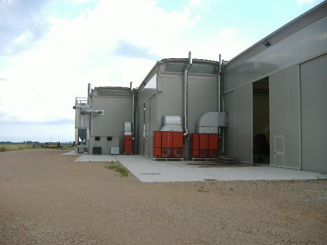 impianto riscaldamento per industria
